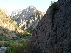 Rock Climbing Photo: Reservoir Ridge Area. Notice the dam...