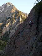 Rock Climbing Photo: Scott at the crux