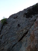 Rock Climbing Photo: 3/4 of the way up