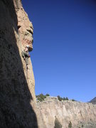 Rock Climbing Photo: Matt M enjoying a fine day at Cactus Cliff, Shelf ...