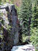 Rock Climbing Photo: Creeky Wall from Compensation Crag.
