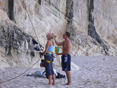 Rock Climbing Photo: You know it's a laid back day when T Bob has no co...