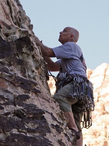 Rock Climbing Photo: another moderate trad route