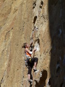 Rock Climbing Photo: Super ginormo buckets at Smith Rock. Pic by Heathe...
