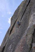 "Rock Climbing Photo: Mike A on ""Wheat Thin"" City of Rocks"