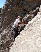 Rock Climbing Photo: Having fun on Moby Grape.