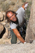 "Rock Climbing Photo: 60 year old, Phil Bircheff having fun on ""Con..."