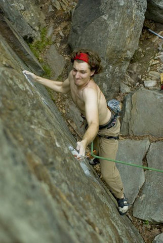 "Rock Climbing Photo: working ""Things as they are now"" at Rumn..."