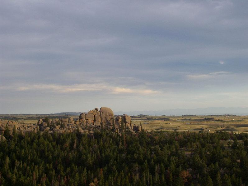 Nautilus Rock at Vedauwoo WY.