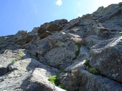 Rock Climbing Photo: P1...just go up!  No idea where the route was/is.