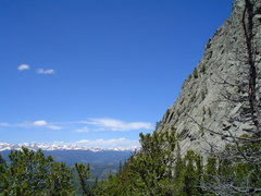 Rock Climbing Photo: The grand sweep of Thorodins 2nd buttress from the...