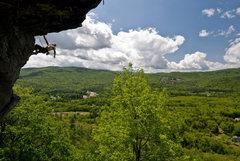Rock Climbing Photo: Timmy D enjoying an incredible new england summer ...
