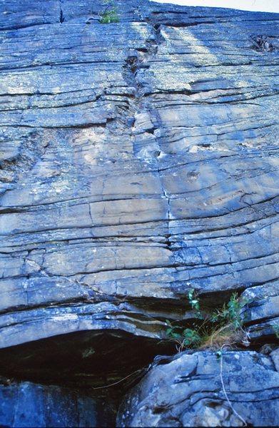 Rock Climbing Photo: Ruff Licks Topo