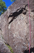 Rock Climbing Photo: Counter Reactionary takes the line directly up to ...