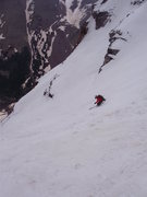 Rock Climbing Photo: Taking the express route from the top of Bell Cord...
