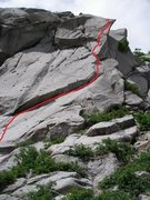 Rock Climbing Photo: both pitches