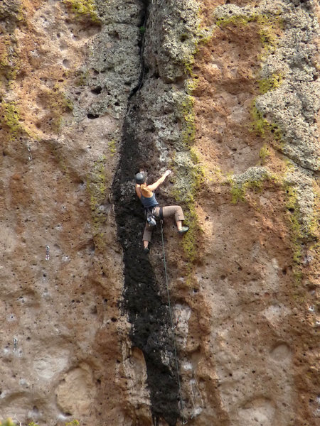 Rock Climbing Photo: An afternoon ascent of Once Upon a Time.