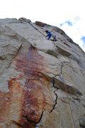 Rock Climbing Photo: Greg Jackson on 'V8 Crack'