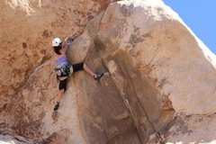 Rock Climbing Photo: Overhang Bypass