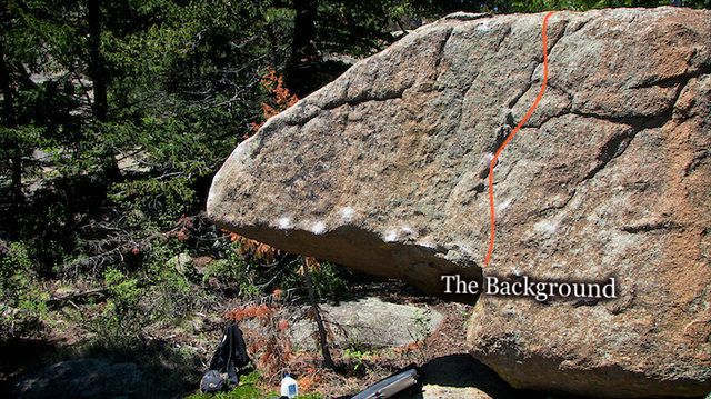 "Rock Climbing Photo: Photo beta for ""The Background.""  The Pa..."