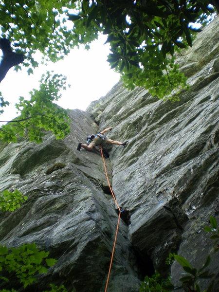 Rock Climbing Photo: P1 of White Lightning
