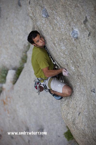 Rock Climbing Photo: actual FA