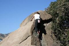 Rock Climbing Photo: finished with Jam Rock