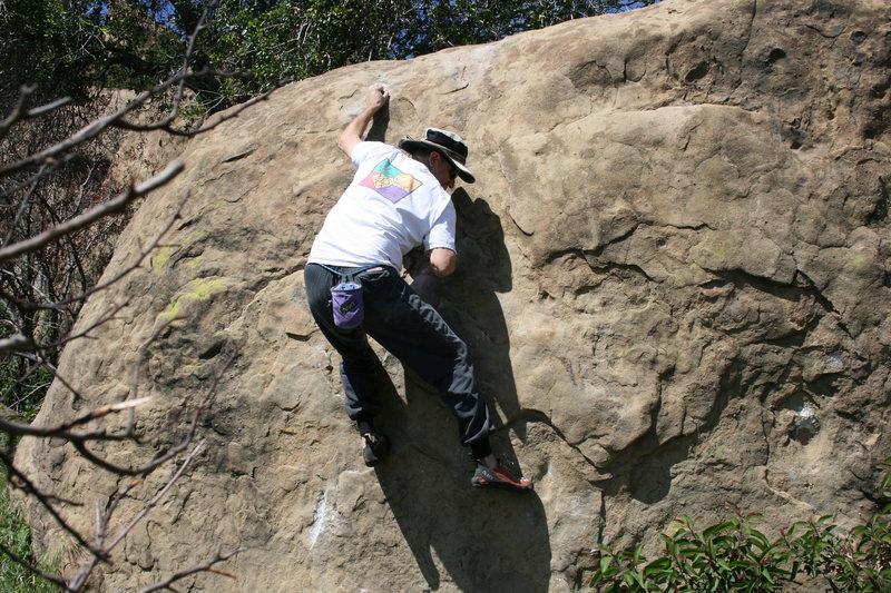 Rock Climbing Photo: Bill on Scorpion