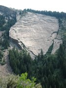 Rock Climbing Photo: The Millstone Slab.