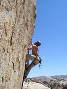 "Rock Climbing Photo: Konstantin Stoletov on ""Fisticuffs"""