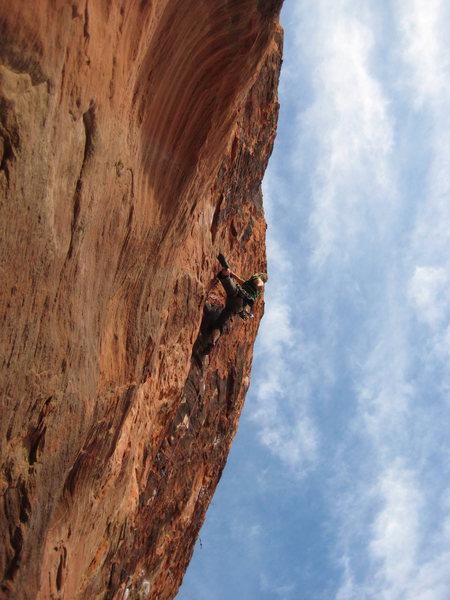 Rock Climbing Photo: neato climb.