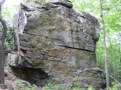Rock Climbing Photo: The Shortstack.  In photo:  Unnamed, 5.10b, trad (...