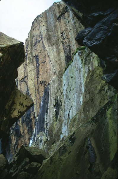North West Face of Dumbarton Rock