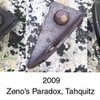 Zeno's Paradox lower bolt.  Notice the corrosion growth from 2007 to 2009.  Interesting thing is the last place to rust is right where the hammer pounded the bolt in.  I've noticed on Stainless bolts the only place that does rust is where the hammer hit it.  Strange.