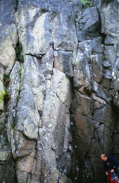 Rock Climbing Photo: The Strangler Topo