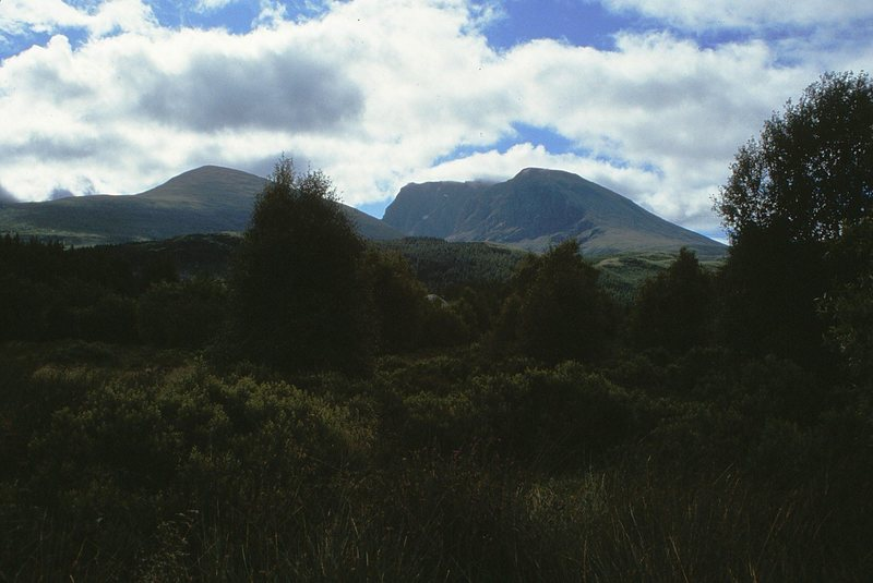Ben Nevis from the North West.