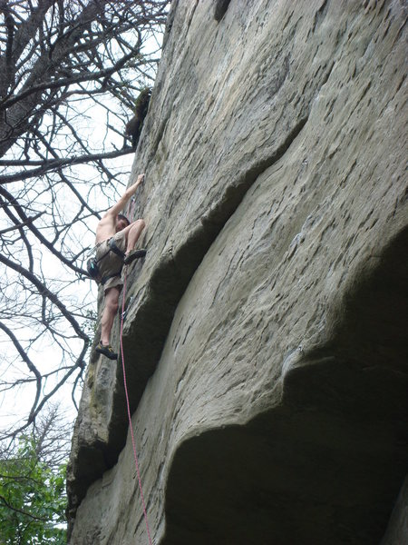 Rock Climbing Photo: Manifest Destiny