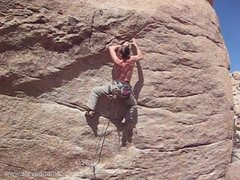 Rock Climbing Photo: getting into the business of father figure
