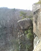 Rock Climbing Photo: Easy Chimney 5.0