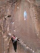 Rock Climbing Photo: Continuing the traverse.