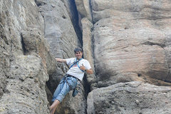 Rock Climbing Photo: Castlewood canyon