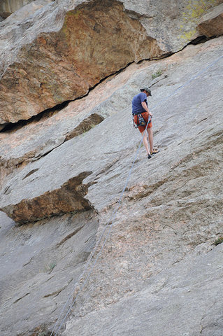 Rock Climbing Photo: 11 mile Canyon, CO