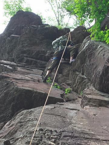 Rock Climbing Photo: Ralph Stover, PA