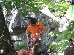 Rock Climbing Photo: Deleware Water Gap, NJ