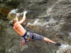 Rock Climbing Photo: Leading Cereal Killer on the Armed and Dangerous W...