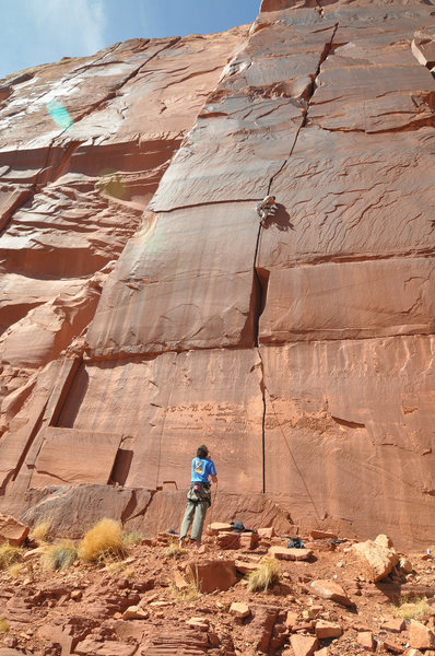 Rock Climbing Photo: IC in the spring... techno wall