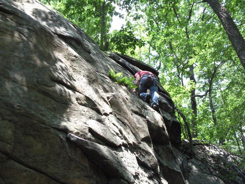 Rock Climbing Photo: Unamed 5.9 R
