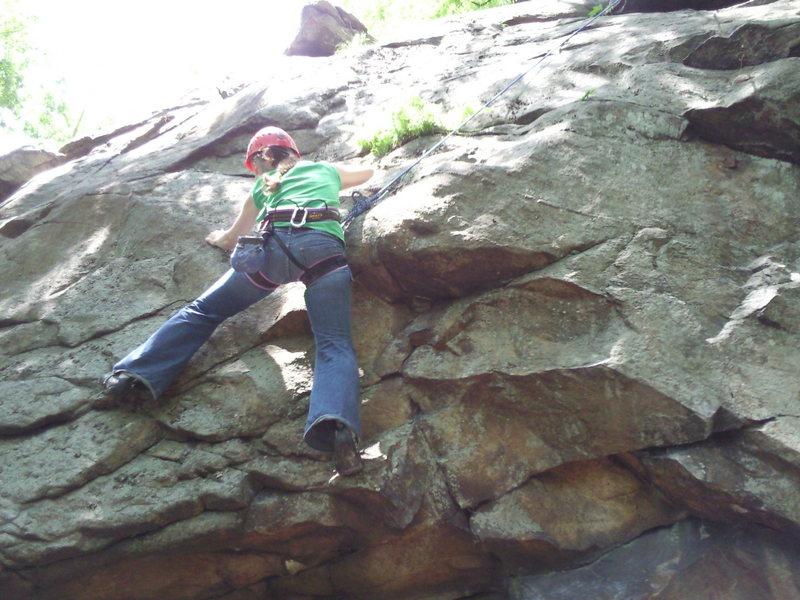 Rock Climbing Photo: Kimberly