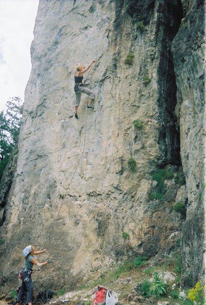 This climb is Babealicious.  5.10b/c