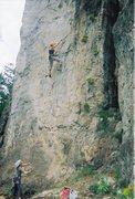 Rock Climbing Photo: This climb is Babealicious.  5.10b/c